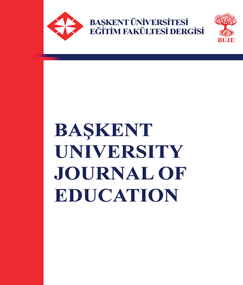 BUJE Başkent University Journal of Education
